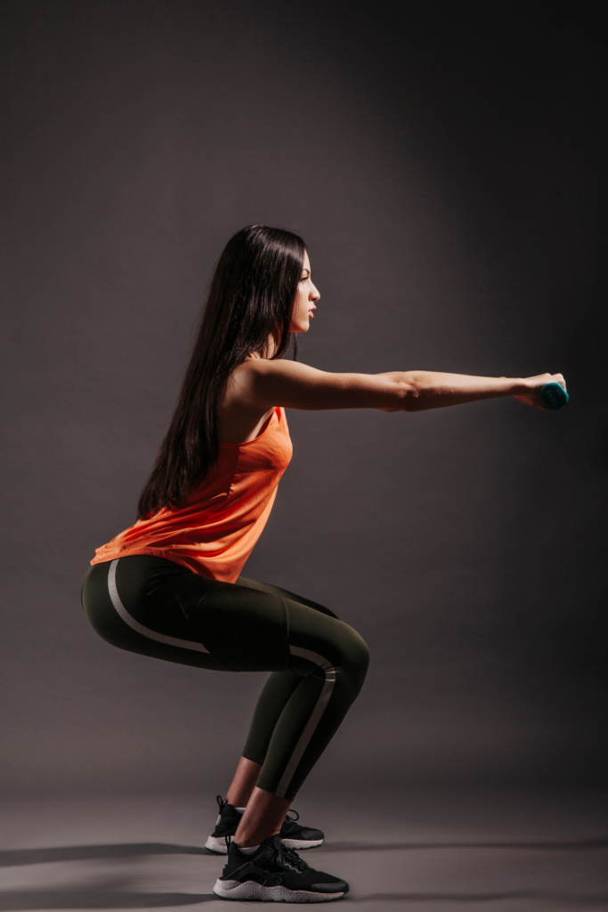Easy exercise to lose belly fat fast at home- How to do squats
