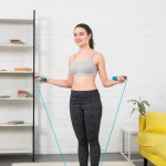 Easy exercise to lose belly fat fast at home- Skipping