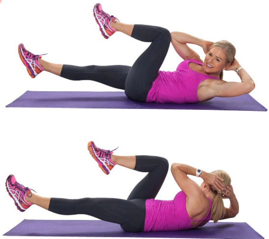 Effective Exercise to lose Belly Fat for Women- Bicycling Exercise