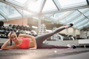Best Exercise for Lower Back Pain - Lying lateral leg raises