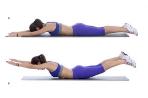 Best Exercise for Lower Back Pain - Superman Exercise