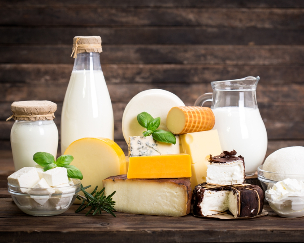 dairy products are impossible to digest