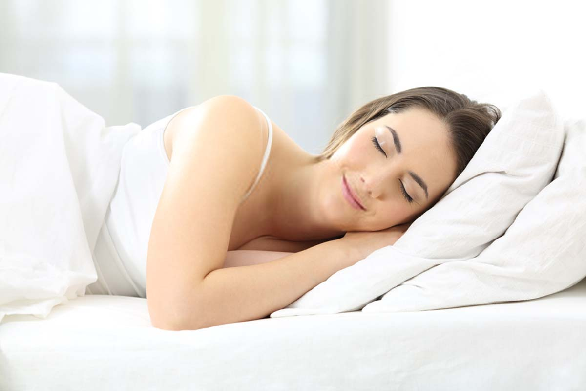 Extra pillow under your head Elevate your head while sleeping to get rid of dark circles