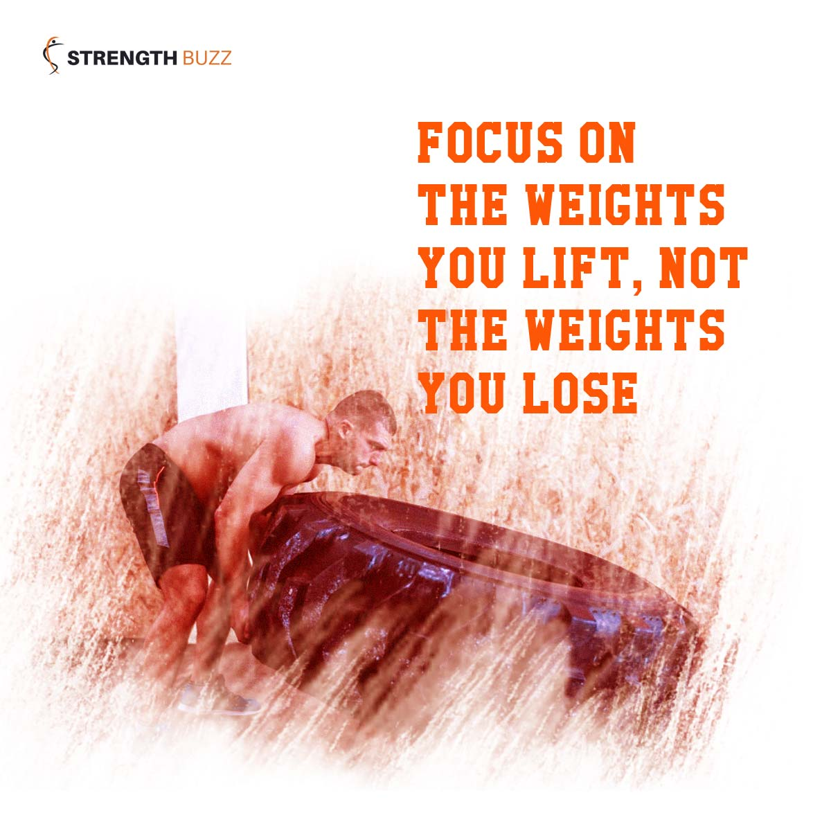 Gym Motivation Quotes - Focus on the weights you lift, not the weights you lose