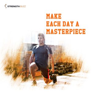 Gym Motivation Quotes - Make each day a masterpiece