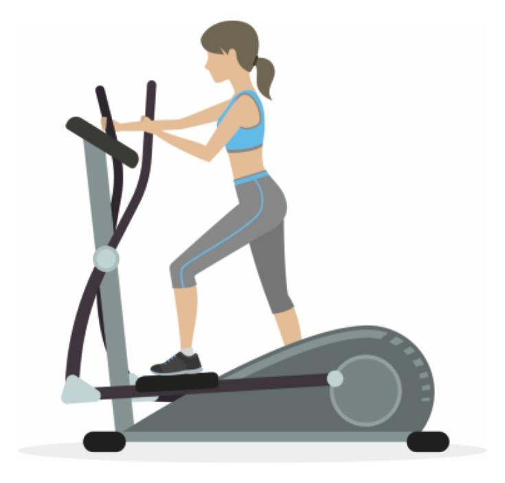 Elliptical Cardio Exercise