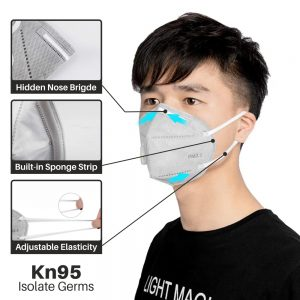 Adult Vertical Folding Dust Filter Face Mask