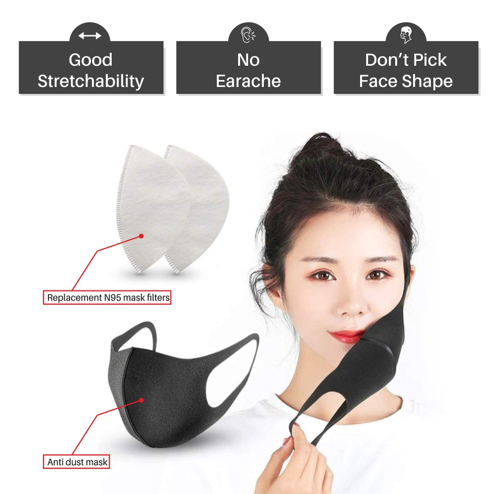 n95 masks black