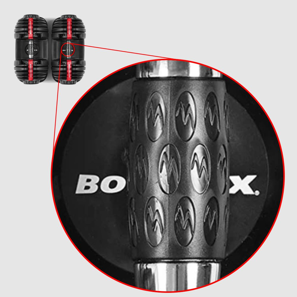 Premium Grips of Bowflex 552 Adjustable Dumbbell