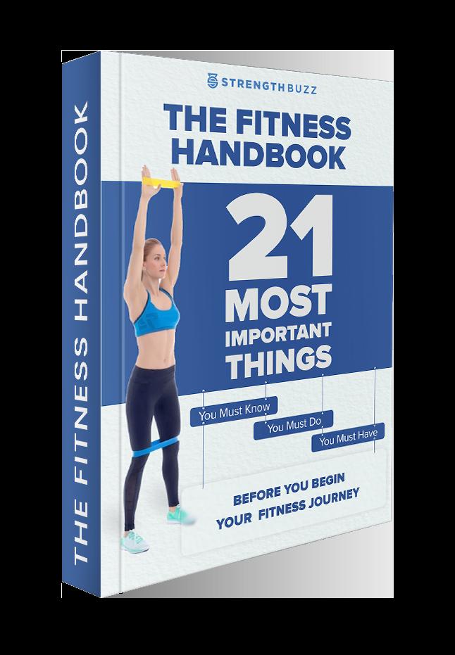 The Fitness Handbook Mockup